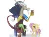Hasbro SDCC My Little Pony Discord Fluttershy