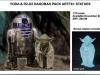 Kotobukiya ARTFX Yoda R2-D2
