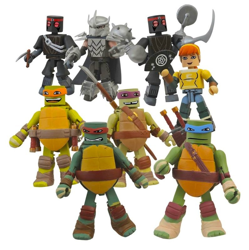 Diamond Select & Nickelodeon Partner on TMNT Toys ...Nickelodeon Ninja Turtles Toys