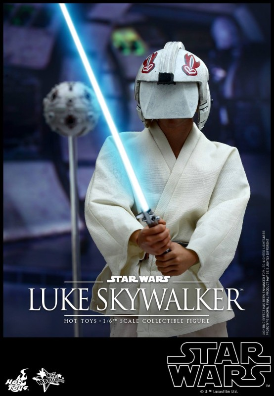 Hot Toys Previews A New Hope Luke Skywalker Imperial Holocron