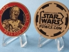 PSWCS Pets for US Vets C-3PO Medallion