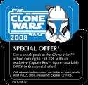 Captain Rex Special Offer Bubble Sticker