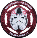 Imperial Holocron Patch Logo