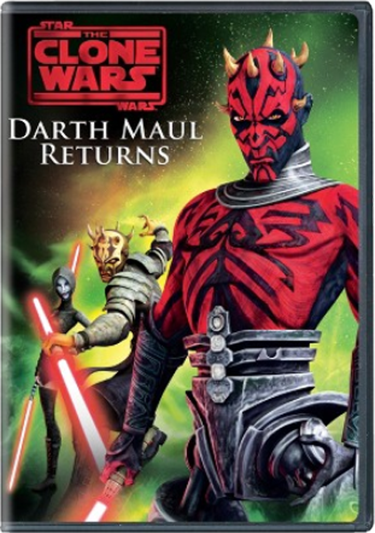 Darth Maul Returns DVD