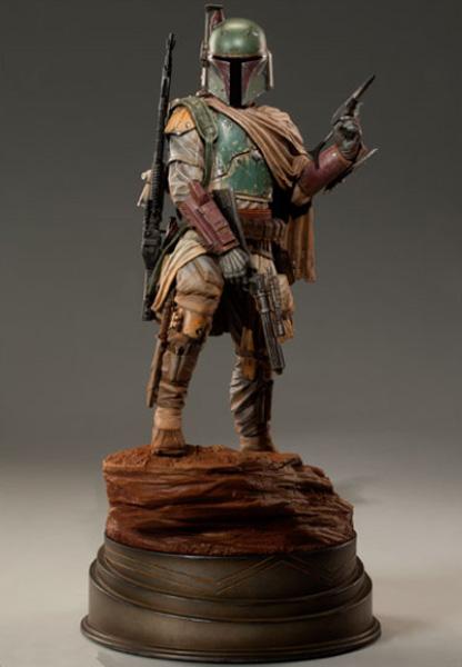 Sideshow Boba Fett Mythos Statue