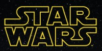 Star Wars Logo Small Black Star Background