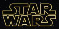 Star Wars Logo Small Black Star Background