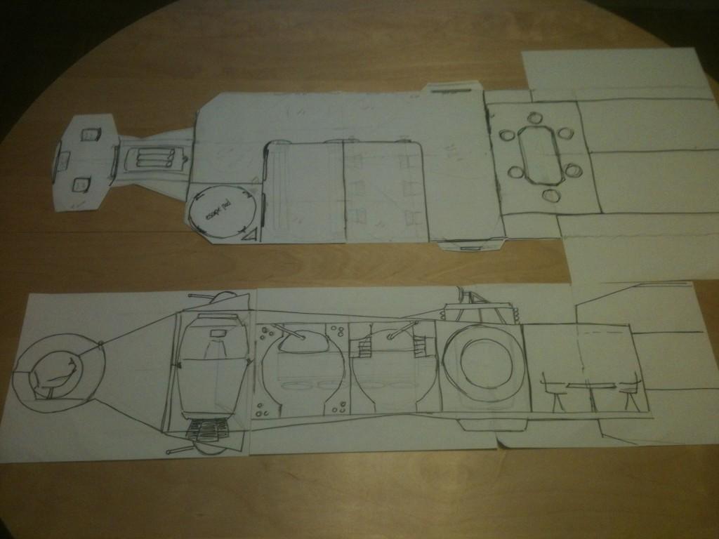 Tantive IV Playset Design