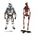 EpII Jango Fett with Red Battle Droid