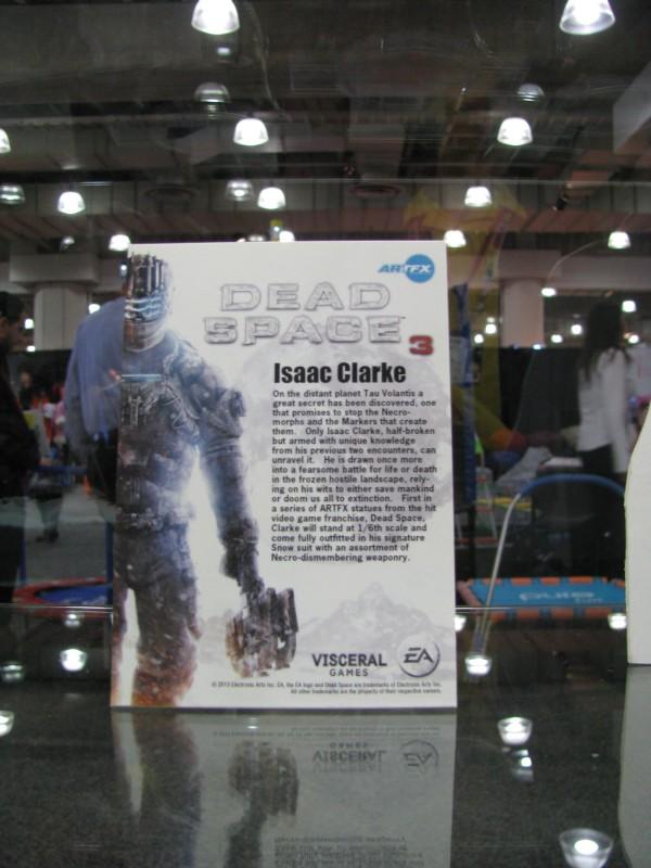 Kotobukiya 2013 Dead Space 3 Isaac Clarke Bio