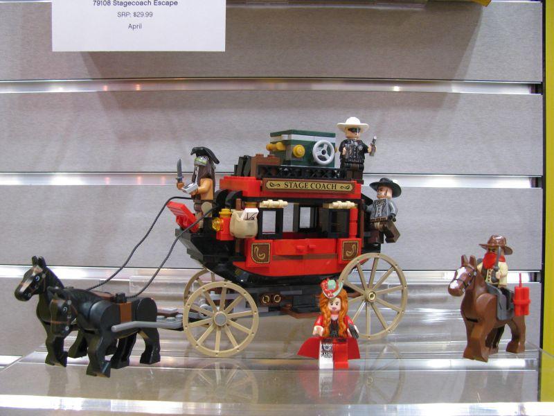 Lego Lone Ranger 2013 79108 Stagecoach Escape