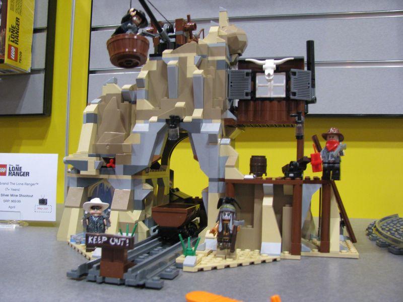 Lego Lone Ranger 2013 79110 Silver Mine Shootout Minifigures