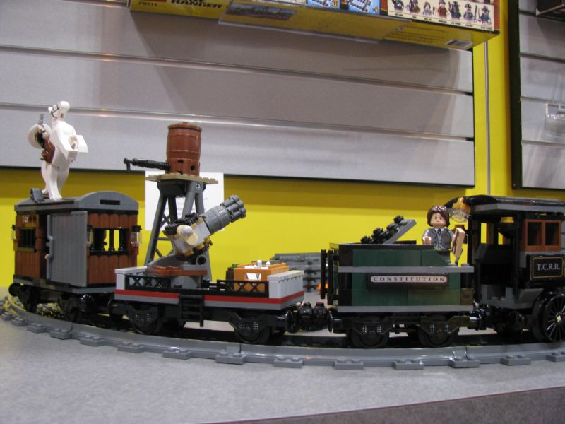 Lego Lone Ranger 2013 79111 Constitution Train Chase Cars
