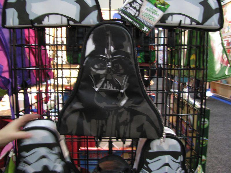 Neat-Oh Lego Star Wars ZipBin 2013 Darth Vader