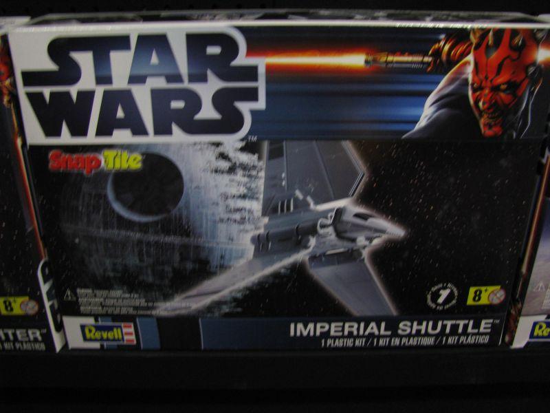 Revell Toy Fair 2013 Imperial Shuttle