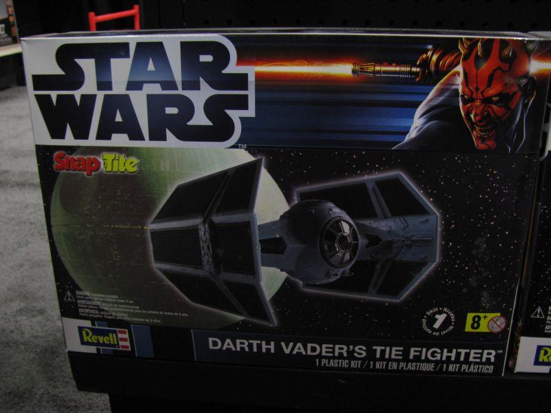 Revell Toy Fair 2013 Darth Vader's TIE Fighter