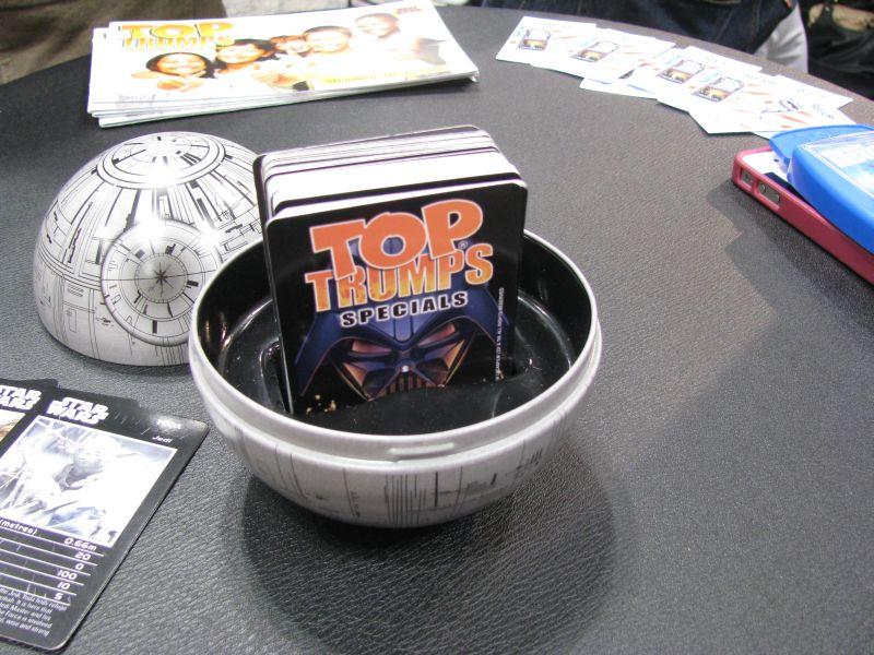 Top Trumps 2013 Death Star Collectors Tin Open