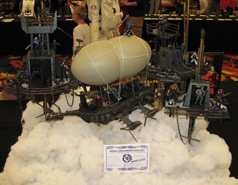 2013 GI Joe Convention - Cobra Steampunk Diorama