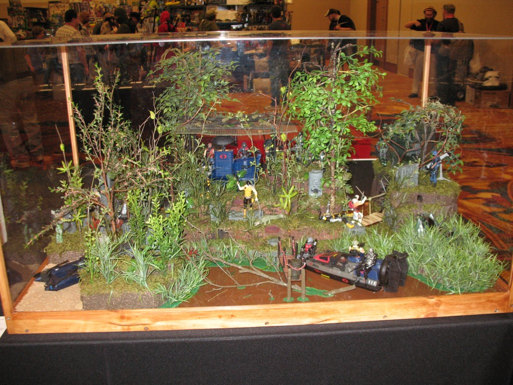 GI Joe Convention Custom Diorama Insurgence