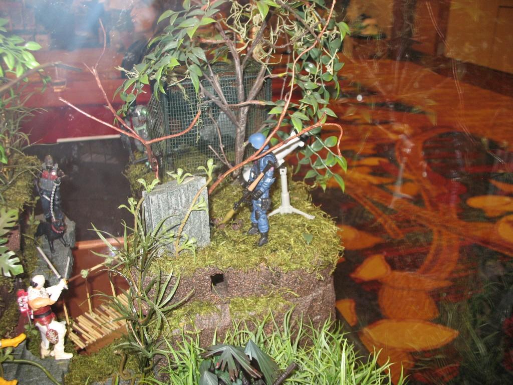 GI Joe Convention Custom Diorama Insurgence