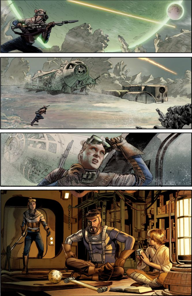 The Star Wars Sample Page