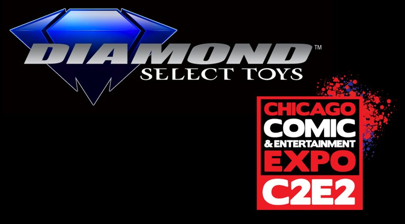 Diamond Select C2E2 Logo