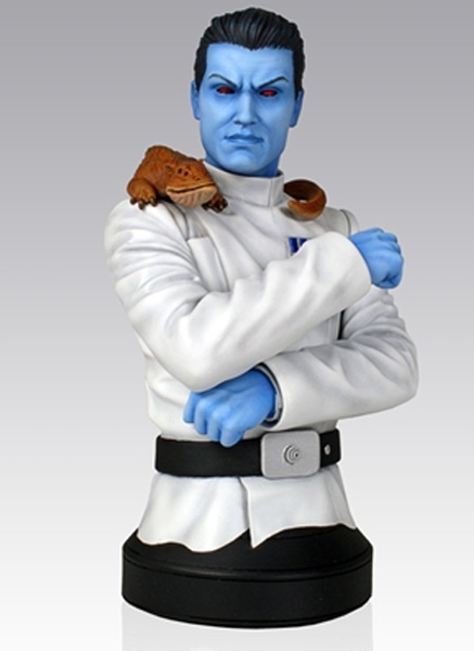 Grand Admiral Thrawn Mini Bust