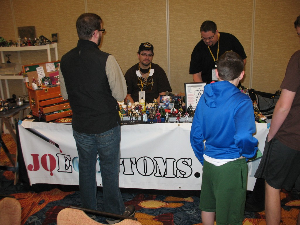 Joe Customs Booth