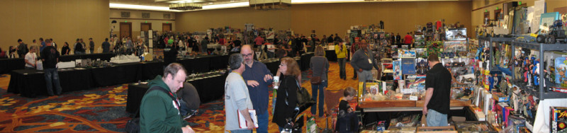 G.I. Joe Convention Show Floor Panorama