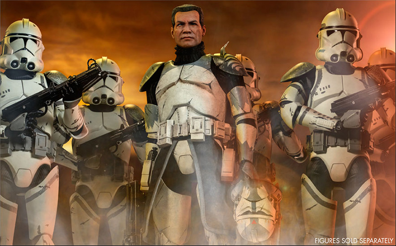 Sideshow Commander Wolffe Preview