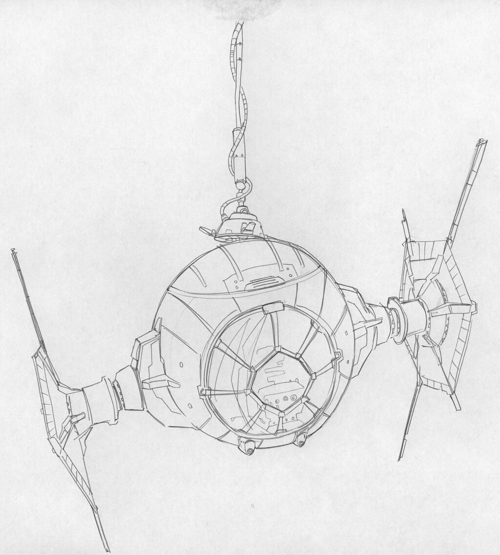 Dave Filoni TIE Fighter