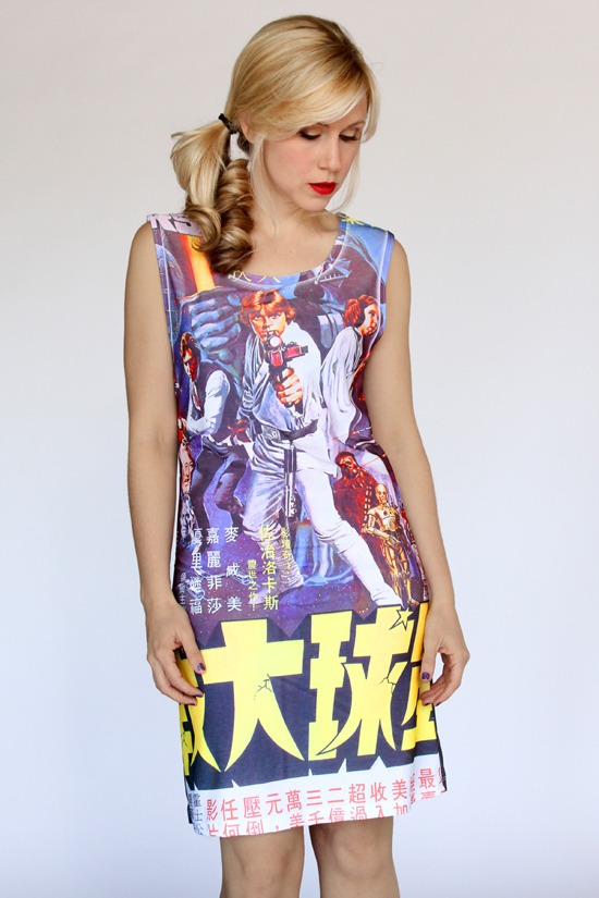 Her Universe Japanese Poster Dress
