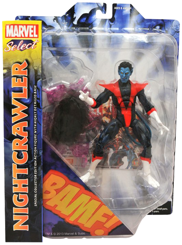 Marvel Select Nightcrawler BoxFront