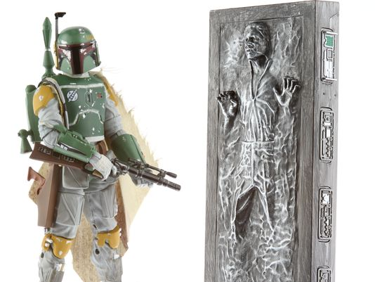Boba Fett and Han Solo in Carbonite