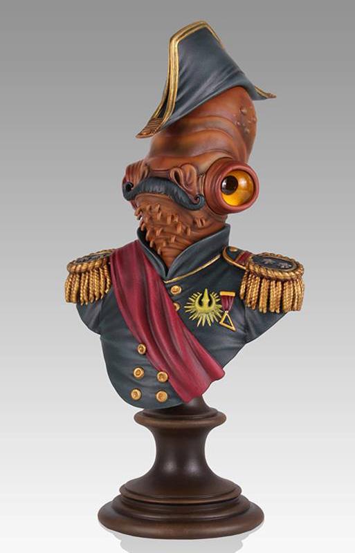 Admiral Ackbar Magnitude Mini Bust