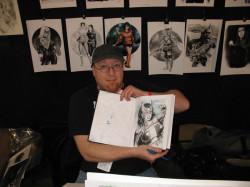 Jay Fife Huntress Sketch