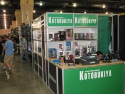 Kotobukiya Booth