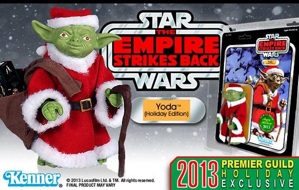 Gentle Giant Jumbo Yoda Holiday Edition