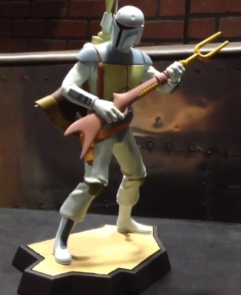 Gentle Giant Animated Boba Fett Maquette