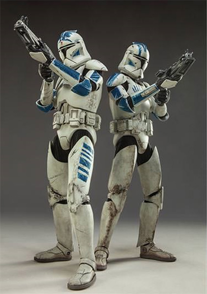 Sideshow Clone Troopers Echo and Fives