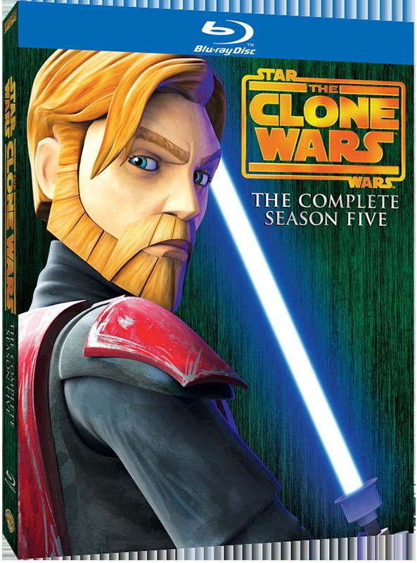 Star Wars The Clone Wars Season 5 Blu-ray
