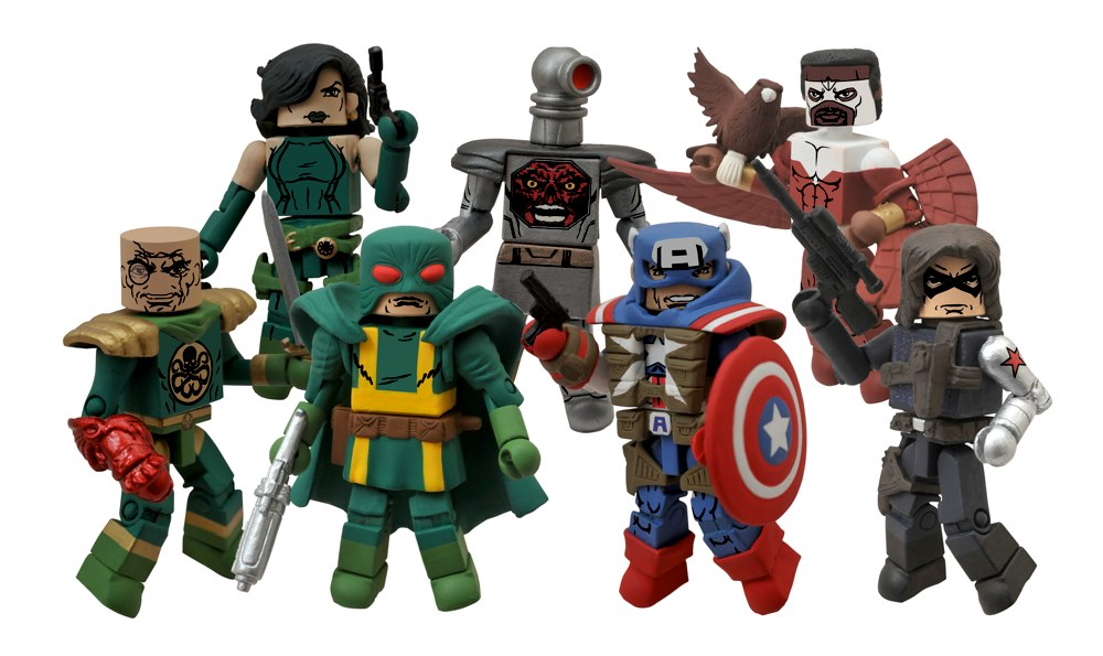 Minimates Series 54 Captain America