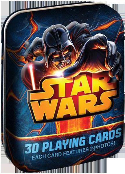Cartamundi 3d Star Wars Tin