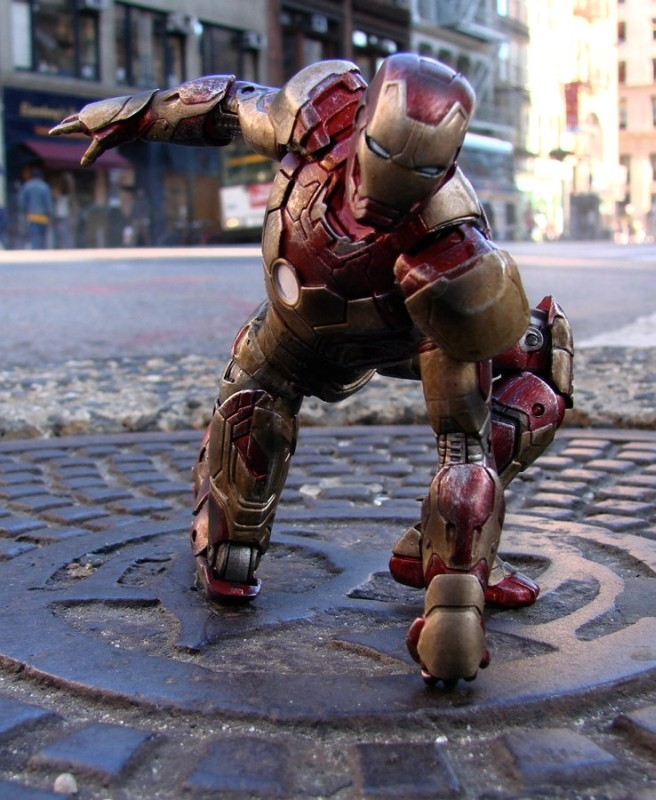 Battle Damaged Iron Man