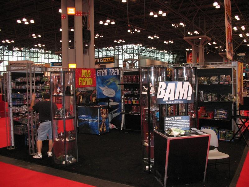 Diamond Select Toys NYCC Booth