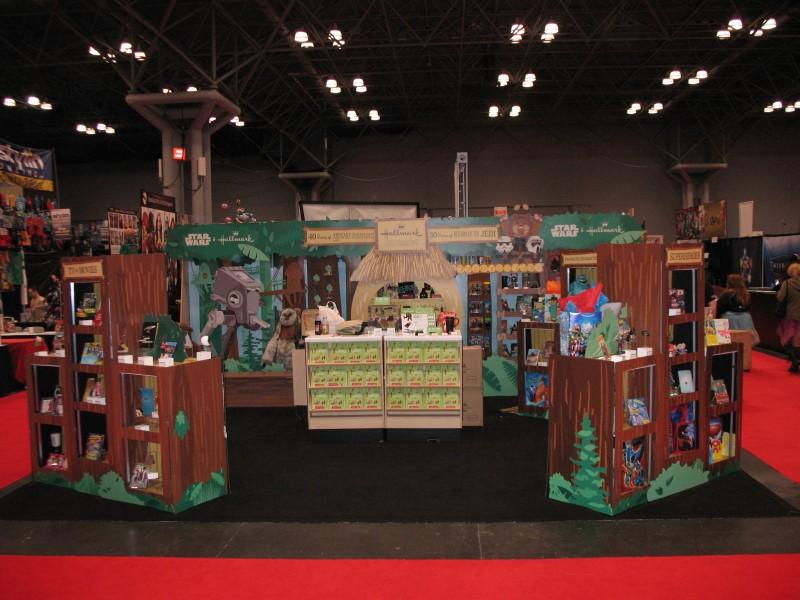 Hallmark Booth