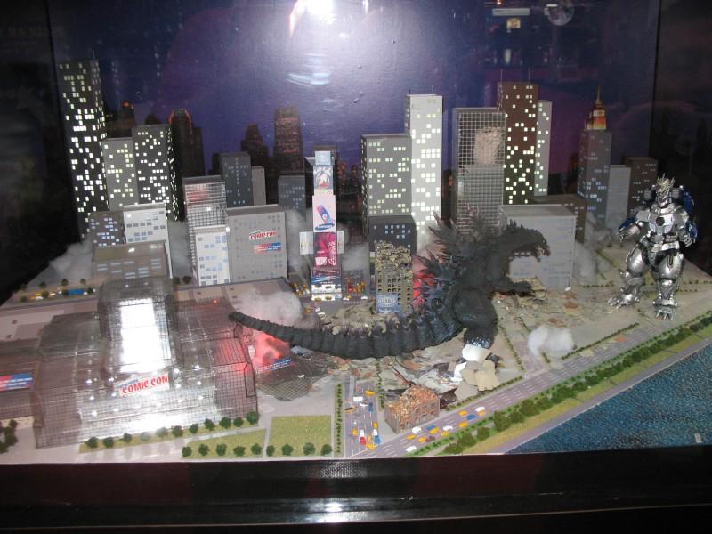 Tamashii Nations Godzilla NYCC Diorama