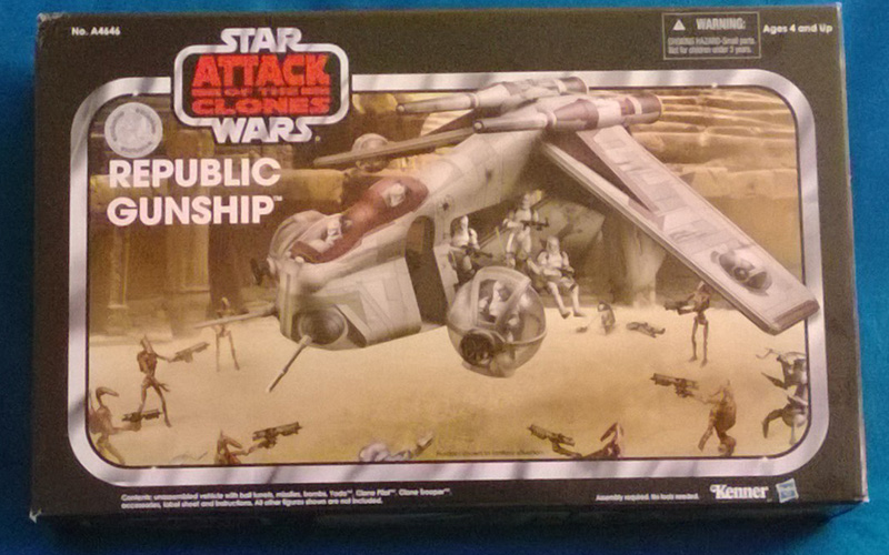 2013 Vintage Collection Republic Gunship Toys-R-Us Exclusive
