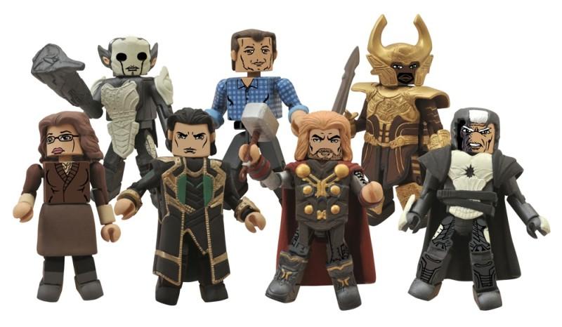 Thor The Dark World Minimates Group