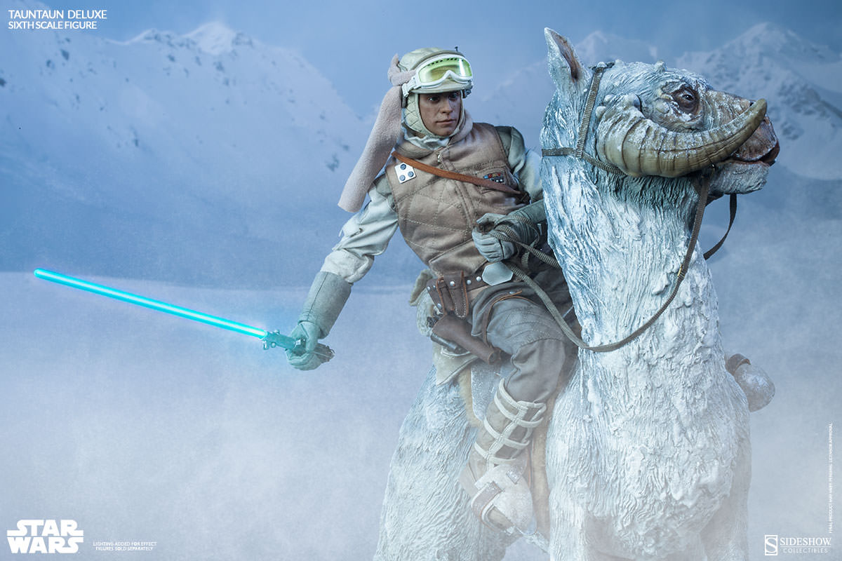 Sideshow Luke and Tauntaun